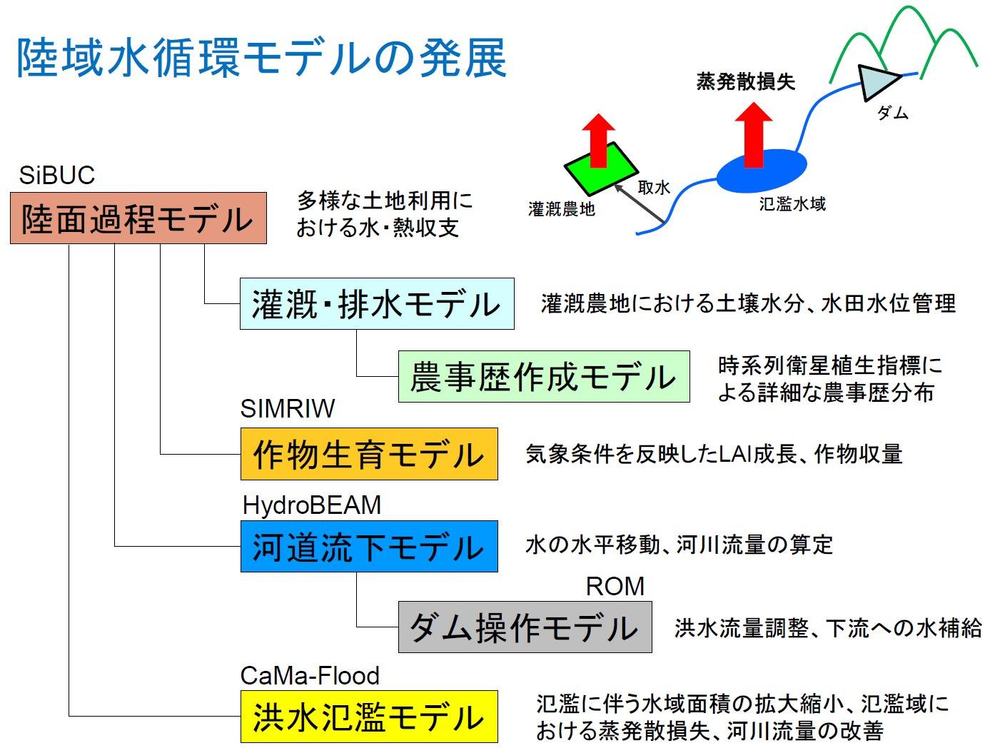 陸域水循環モデルの発展